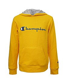 Toddler Boys Embroidered Signature Fleece Hoodie