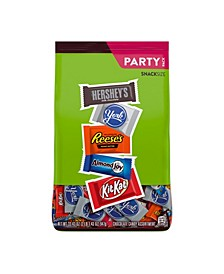 Assortment of Milk Chocolate, Reese's, Almond Joy, Kit Kat, York Pattie Stand Up Bag, 33.43 Oz