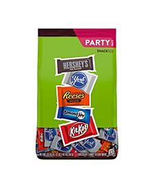 Assortment of Milk Chocolate, Reese's, Almond Joy, Kit Kat, York Pattie Stand Up Bag, 33.43 Oz