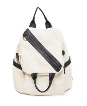 Sideways Zip Hobo Backpack