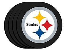 Pittsburgh Steelers 4-Pack Neoprene Coaster Set