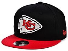 Kansas City Chiefs Basic 9FIFTY Snapback Cap
