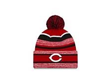 Cincinnati Reds Striped Marled Knit