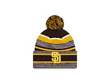 San Diego Padres Striped Marled Knit