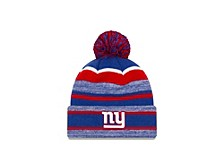 New York Giants Striped Marled Knit Hat