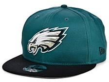Philadelphia Eagles Basic 9FIFTY Snapback Cap