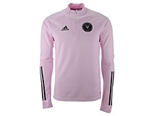adidas Inter Miami Men's Training Quarter-Zip Long Sleeve Pullover