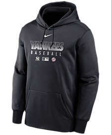 New York Yankees Men's Authentic Collection Therma Fleece Hoodie