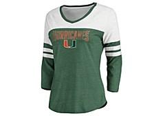 Miami Hurricanes Women's True Classics Raglan Shirt