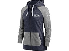 Seattle Seahawks Women's Gym Vintage Full Zip Hoodie