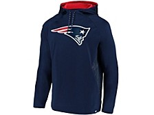 New England Patriots Men's Embossed Defender Hoodie