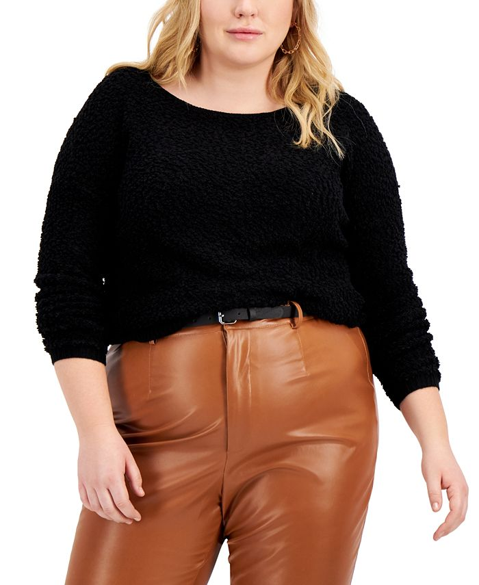 FULL CIRCLE TRENDS - Trendy Plus Size Sweater