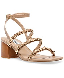 Women's Interested Chained City Sandals