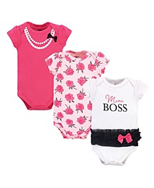 Baby Girls Cotton Bodysuits