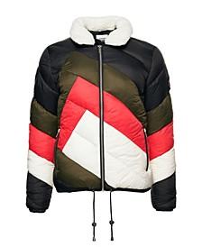 Women's Splice Padded Jacket