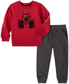 Baby Boys 2-Pc. Truck Sweatshirt & Pants Set