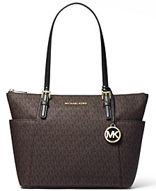 Signature Jet Set East West Top Zip Tote