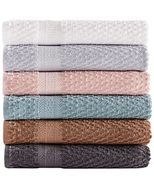 Cotton Textured Quick-Dry Bath Towel Collection