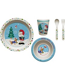 Merry Little Christmas Mealtime Gift Set