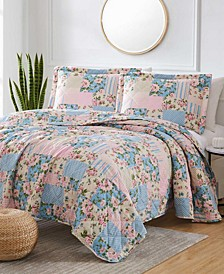 St. Croix Americana Patch 3-Piece Reversible Quilt Set, Queen