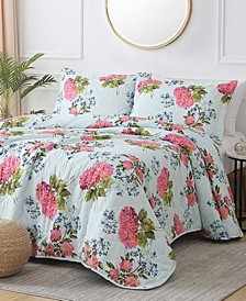 St. Croix Desiree 3-Piece Reversible Quilt Set, Queen