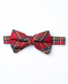 Big Boys Plain Classic Bow Tie