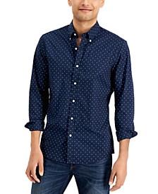 Men's Slim-Fit Mini Dot Shirt