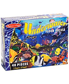 Kids Toy, Underwater 48-Piece Floor Puzzle