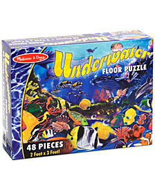 Melissa and Doug Kids Toy, Underwater 48-Piece Floor Puzzle