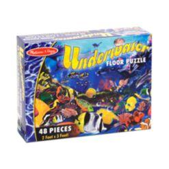 Melissa and Doug Kids Toy, Underwater 48-Piece Floor Puzzle