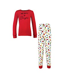 Little Boys and Girls Family Holiday Pajamas