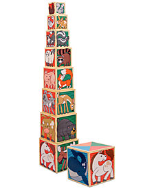 Melissa and Doug Kids Toy, Wooden Animal Nesting Blocks