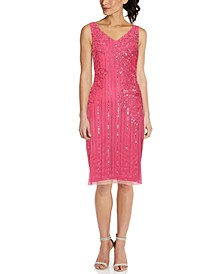Beaded Sheath Dress