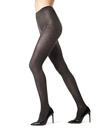 Cashmere Flat Knit Women's Tights