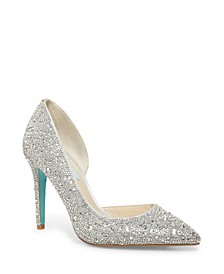 Betsey Johnson Hazil Evening Pumps