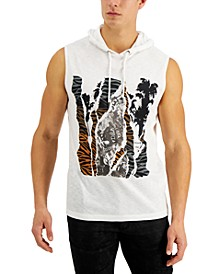 INC Men's Palm Time Tank Top, Created for Macy's