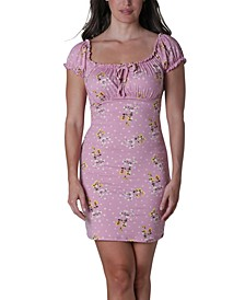 Juniors' Emma Ruched Slim Dress