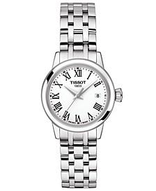 Women's Swiss Classic Dream Stainless Steel Bracelet Watch 28mm