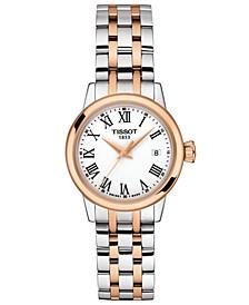 Women's Swiss Classic Dream Two-Tone Stainless Steel Bracelet Watch 28mm