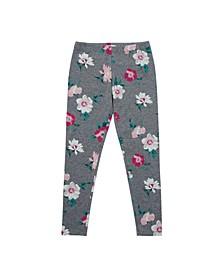 Big Girls All Over Floral Print Legging