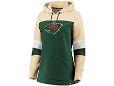 Minnesota Wild Women's Colorblocked Fleece Sweatshirt