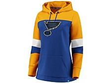 St. Louis Blues Women's Colorblocked Fleece Sweatshirt
