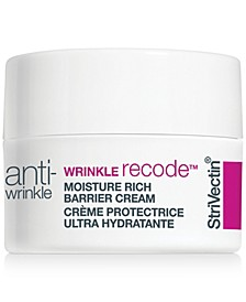 Receive a Free Wrinkle Recode Rich Moisture Cream, 7 ml with any $110 StriVectin purchase!