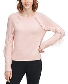 Fringe-Trim Sweater