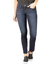 Suki Curvy-Fit Straight-Leg Jeans
