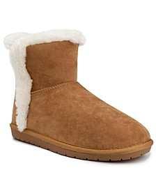 Women's Polly Fuzzy Winter Booties