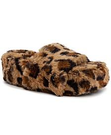 Women's Wyrde Fuzzy Flatform Slippers