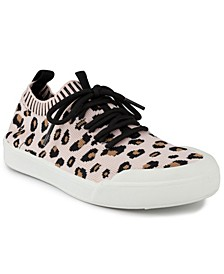 Women's Festival Lace Up Knit Sneakers