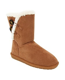 Women's Marty Fuzzy Winter Booties