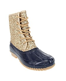 Women's Skylar Glitter Duck Boots